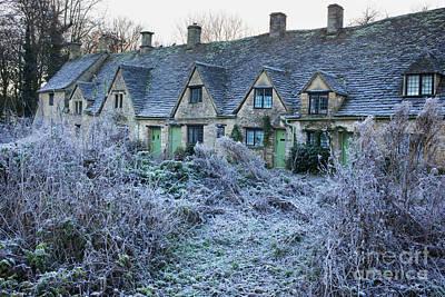 Arlington Row In Winter Print by Tim Gainey