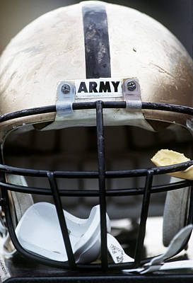 Army Football Helmet Print by Getty Images