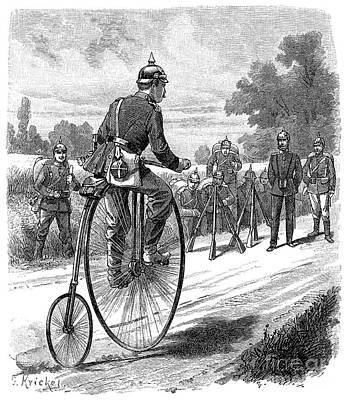 Army Messenger, 1890s Print by Granger