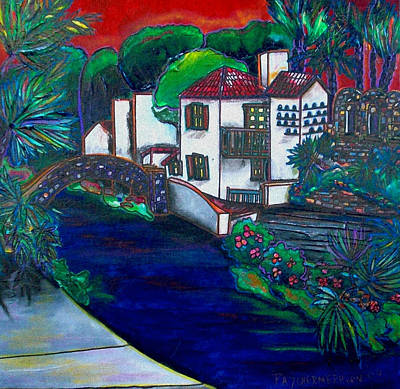 Arneson Theater Print by Patti Schermerhorn
