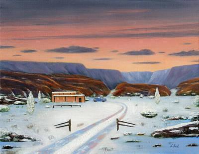 Around Sundown Print by Gordon Beck