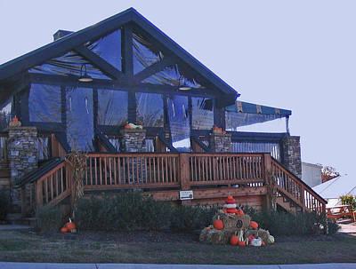 Franklin Tennessee Digital Art - Arrington Vineyards Tasting Lodge by Marian Bell