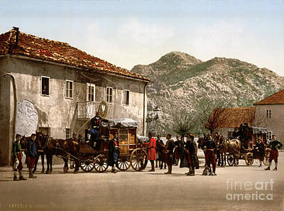 Montenegro Painting - Arrival Of The Post by Celestial Images