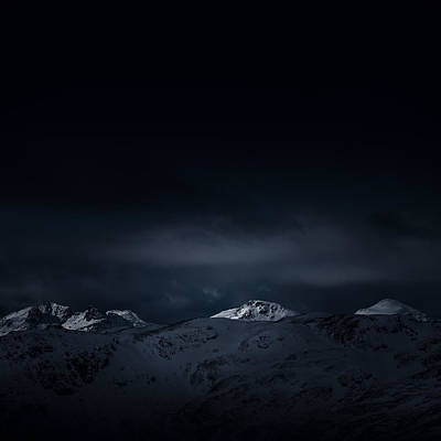 Wall Decals Photograph - Arrochar Alps by Kate Morton