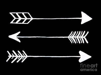 Painting - Arrow Design by Lucia Stewart