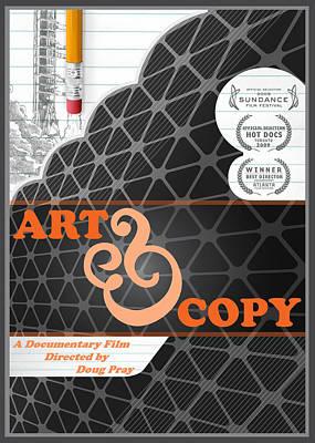 Art And Copy Dvd Cover Original by Leon Gorani
