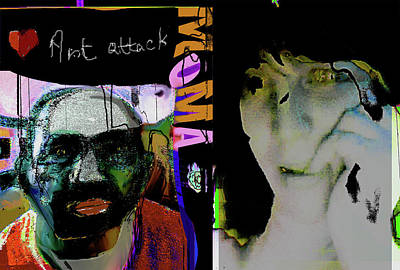 Art Attack Print by Noredin Morgan