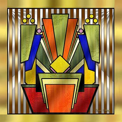 Digital Art - Art Deco 26 - Chuck Staley by Chuck Staley