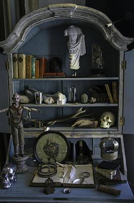 Skull Photograph - Art Desk by Garry Gay