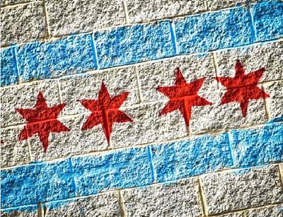Soldier Field Digital Art - Art Stars by 2141 Photography