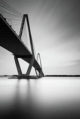 Arthur Ravenel Jr Bridge IIi Print by Ivo Kerssemakers