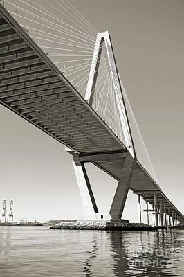 Arthur Ravenel Jr Bridge Charleston Sc Cooper River Original by Dustin K Ryan