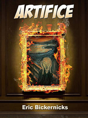 Artifice Book Cover Print by Eric Bickernicks