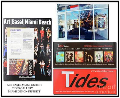 Mixed Media - Artist Anahi Decanio Exhibit In Miami Design District by Anahi DeCanio