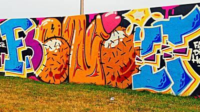 Epic Digital Art - Artistic Graffiti Genitals by Marco De Mooy