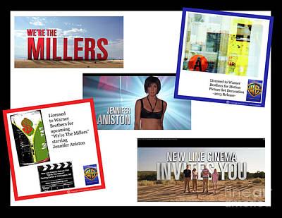 Digital Art - Artwork By Anahi Decanio In Were The Millers Motion Picture With Jennifer Aniston by Anahi DeCanio