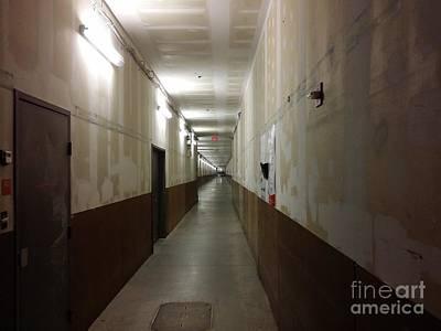 Arundel Mills Shopping Mall Service Corridor Print by Ben Schumin