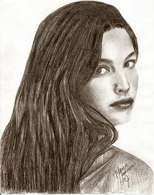 Arwen Drawing - Arwen by Maren Jeskanen