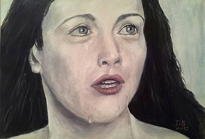 Arwen Painting - Arwen's Fate  by Duncan Sawyer