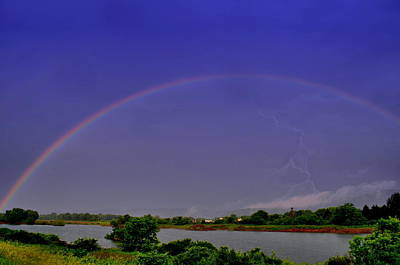 Rainbow Photograph - As Luck Would Have It by Emily Stauring