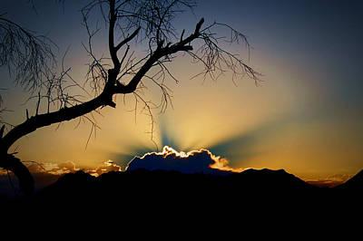 Digital Art - As The Sun Rises by Dan Stone