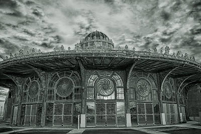 Asbury Park Carousel House Print by Allison Coffin