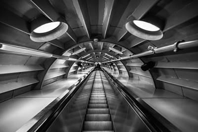 Ascending Print by Chris Fletcher