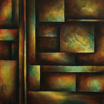 Basic Painting - Ascending Light by Michael Lang