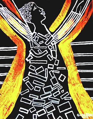 Gloria Mixed Media - Ascension Of Jesus Christ by Gloria Ssali