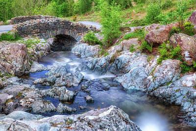Stone Bridge Photograph - Ashness Bridge - Lake District by Joana Kruse