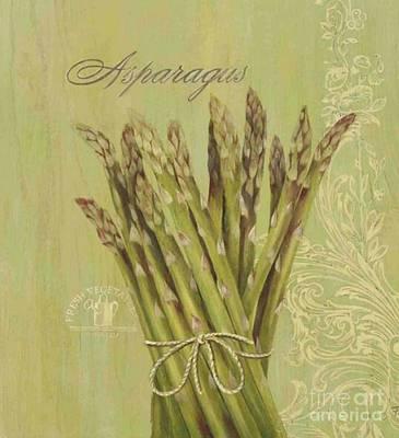 Asparagus Mixed Media - Asparagus by Blackwater Studio