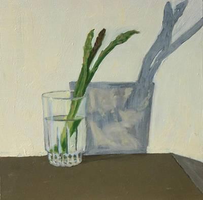 Asparagus Original by Phillip Schwartz