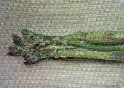 Asparagus Painting - Asparagus by Sarah Lynch