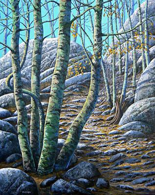 Aspen Trail Print by Frank Wilson