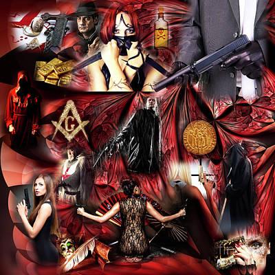 Conspiracy Digital Art - Assassini by John Rizzuto
