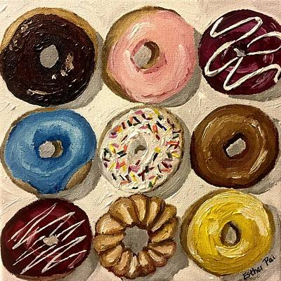 Pai Painting - Assorted Doughnuts by Esther Pai