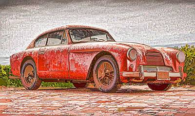 Berlin Germany Painting - Aston Martin 1 by Lanjee Chee