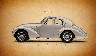 Atom Photograph - Aston Martin Atom by Mark Rogan