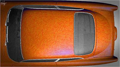 Sean Connery Mixed Media - Aston Martin O by Edier C