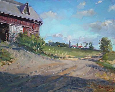 At Barn In Georgetown On Original by Ylli Haruni