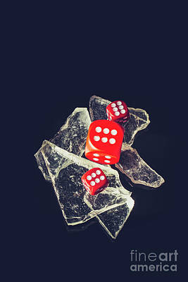 Gambling Photograph - At Odds by Jorgo Photography - Wall Art Gallery
