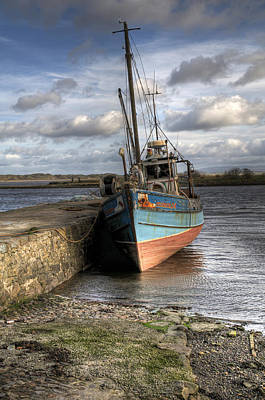 Fishing Boat Photograph - At Rest by Marion Galt