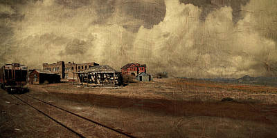 Country Schools Digital Art - At The Edge Of Time by Jeff Burgess