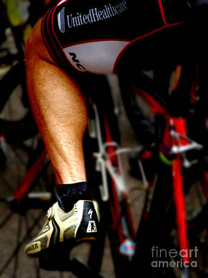 Bicycle Photograph - At The Feet Of Power by Steven  Digman