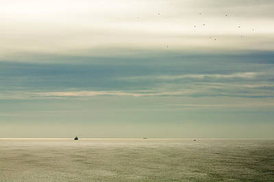 Void Photograph - At The Mouth Of The Columbia by Todd Klassy