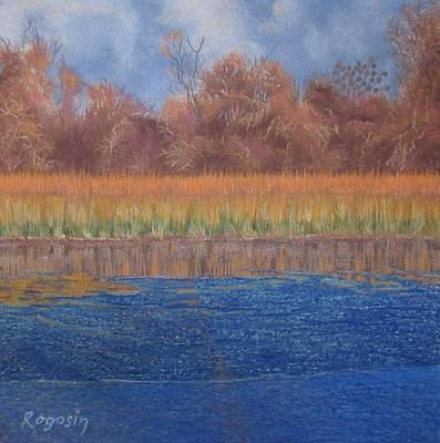 At The Water's Edge Print by Harvey Rogosin