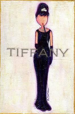 At Tiffany's Print by Ricky Sencion