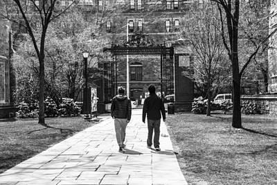 School Days Photograph - University Life by Karol Livote