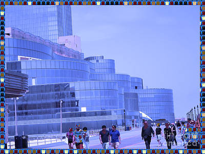 Atalantic America Board Walk And Architecture July 2015 Photography By Navinjoshi At Fineartamerica. Original by Navin Joshi