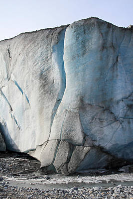 Canada Photograph - Athabasca Glacier Columbia Icefields Jasper National Park by Pierre Leclerc Photography